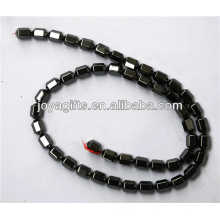 Natural hematite 6*8MM loose beads for jewelry